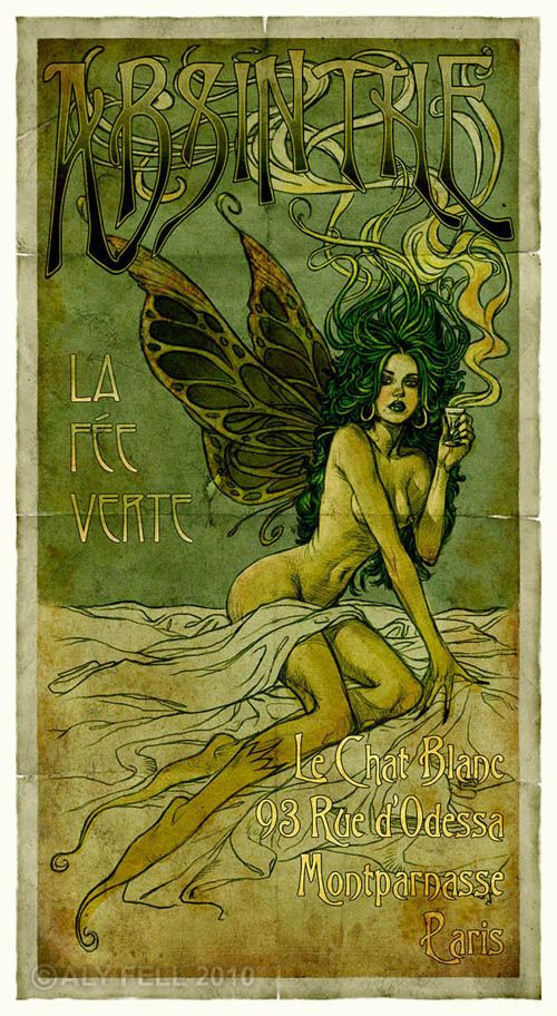 The Absinthe Fairy