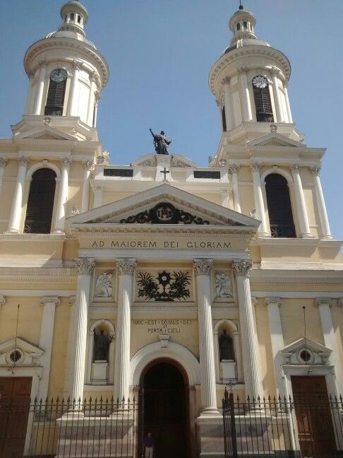 "Iglesia de los Jesuitas. Via basilicarum. André Kaleaux. 2015 ""HAEC EST DOMUS DEI ET PORTA CAELI"""