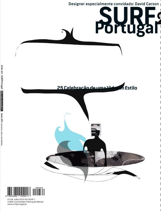 Surf Portugal by David Carson