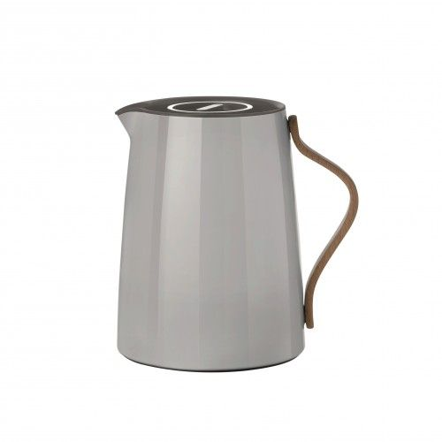 Emma vacuum jug tea 1L grey - thermoskan - Keuken