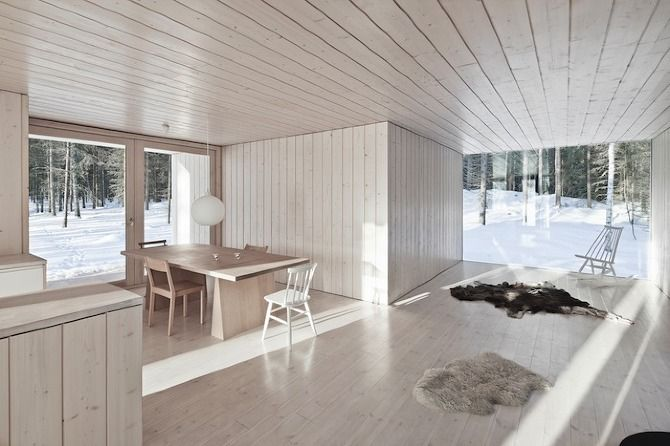 A sustainable Finnish cabin