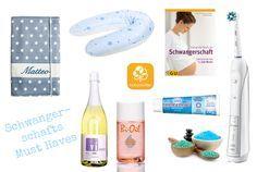 Was brauche ich um eine Schwangerschaft zu überstehen. Meine Tipps & Must Haves für eine angenehme Schwangerschaft rund um Körper, Ernährung und Bücher.