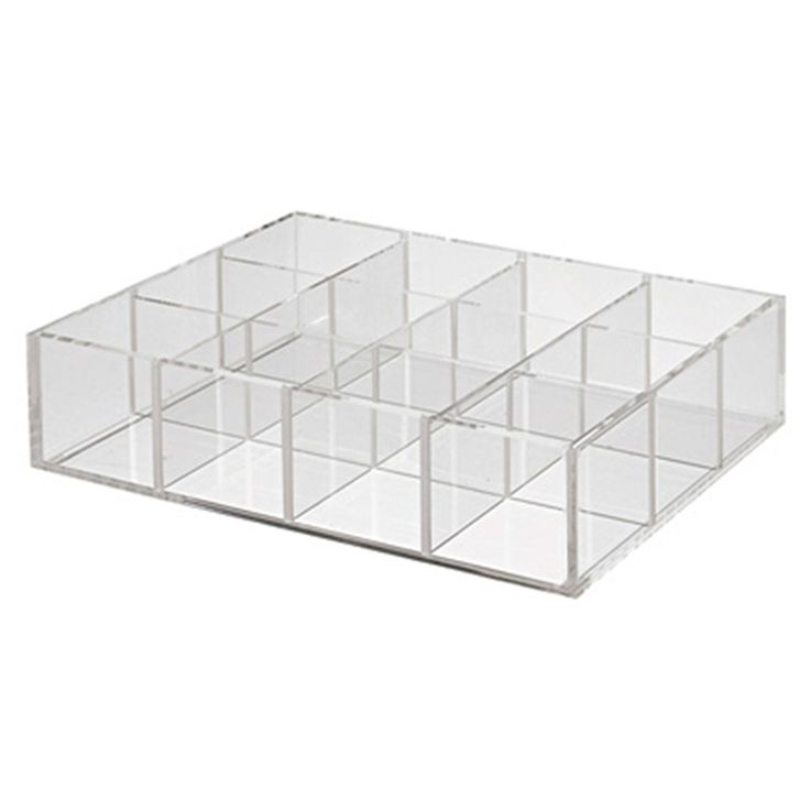 Acrylic Stand with Partition- for nail varnish