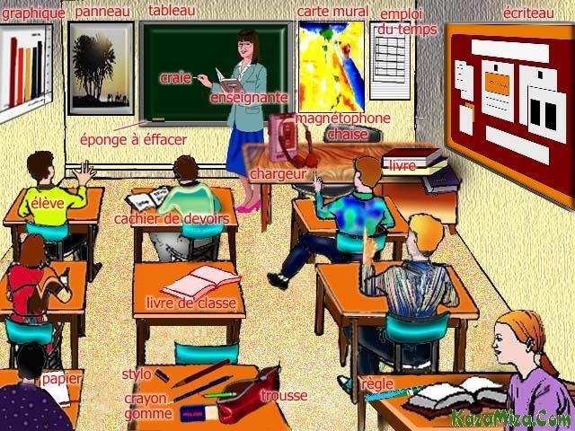 vocabulaire salle de classe coll 232 ge salle de classe