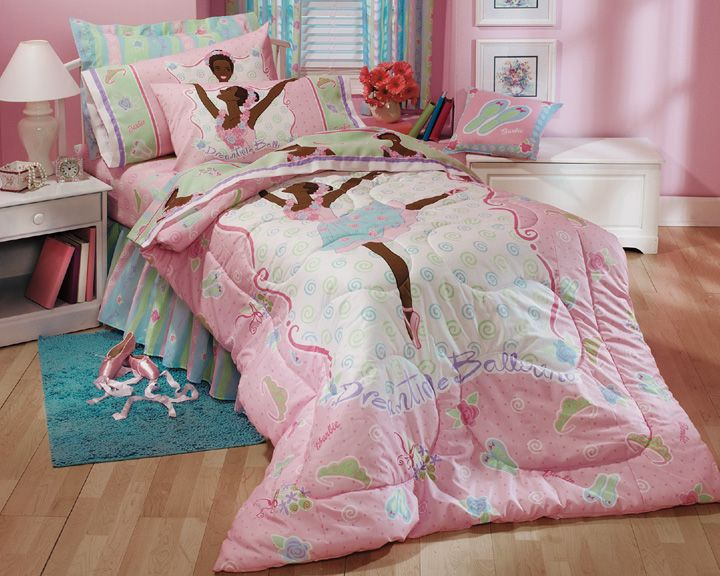 Black Ballerina Barbie Ethnic Dreamtime Ballerina Bed