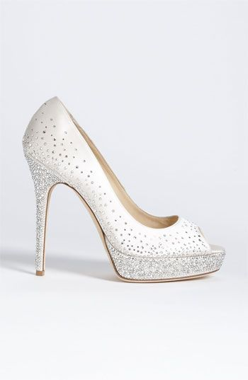 31 Best Images About Wedding Shoes On Pinterest Jimmy Choo Satin And Desig
