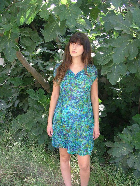 Beach Dress.Dress.Beach Dress.Cover Up.Summer by shpirulina