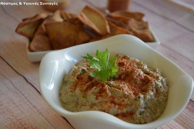 Νόστιμες κ Υγιεινές Συνταγές: Ανατολίτικη μελιτζανοσαλάτα (μπαμπαγανούς)