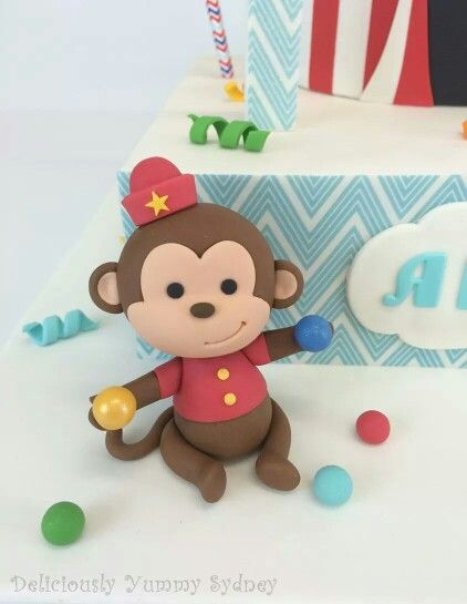 17 Best Images About Circus Fondant Cakes On Pinterest