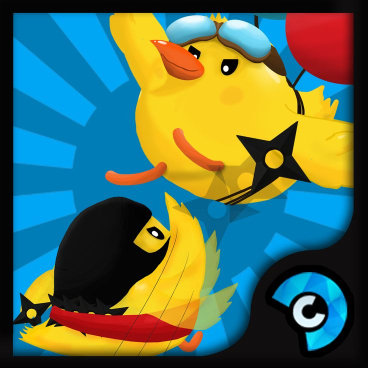 Chicken Clash icon Playstore Game