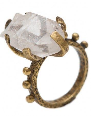 ToniMay Quartz Rocker ring