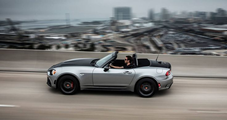2017 Fiat 124 Abarth performance and Test Drive Photo