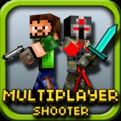 Pixlgun 3D – Block World Pocket Survival Shooter with Skins Maker for minecraft (PC edition) & Multiplayer   iPad And iPhone Apps
