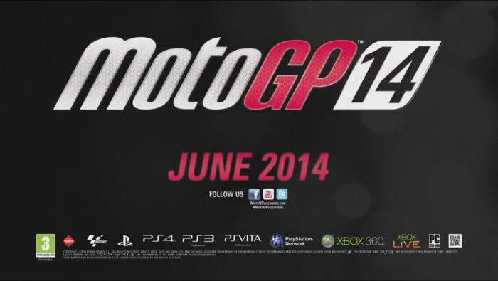 Annunciato ufficialmente MotoGP 14