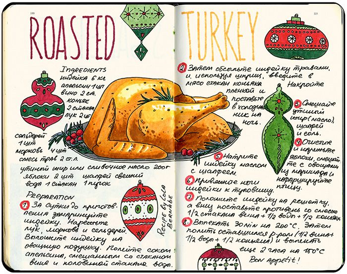 14 best drawn recipes images on pinterest recipe journal eating travel journal ideas and inspiration techniques for keeping an art journal scrapbook or sketchbook i love the midori travelers notebook pages forumfinder Gallery