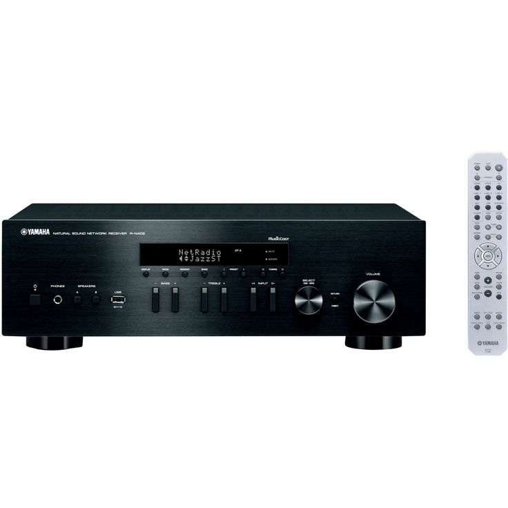 Yamaha - 2.0-Ch. Network-Ready A/V Home Theater Receiver - Black