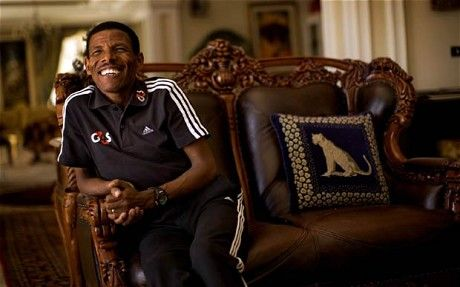 Born to run: Haile Gebrselassie interview Haile Gebrselassie's dominance of long-distance running has put Ethiopia on the map. As he eyes more gold in 2012, many of his compatriots want him to run the country, too On a plateau high above the city of Addis Ababa, at the top of Mount Entoto, the reason Ethiopia has long dominated distance running is writ large. It is here that champions are made.