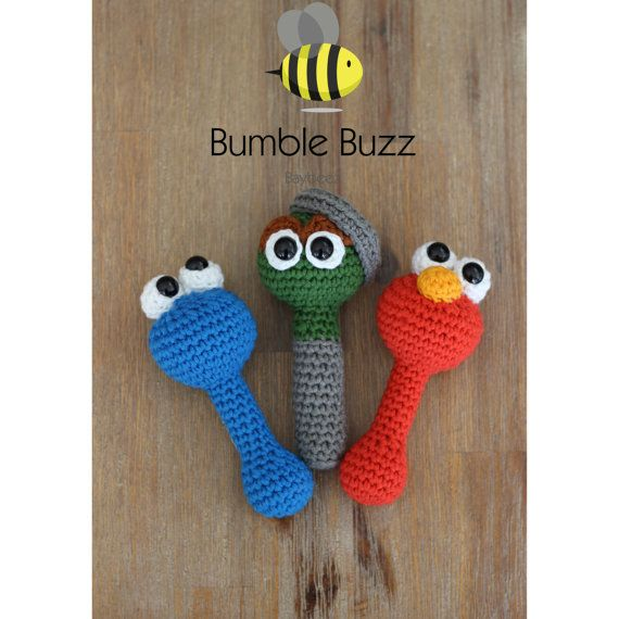 Sesame St    Elmo Cookie Monster Oscar the by BumbleBuzzBaybeez