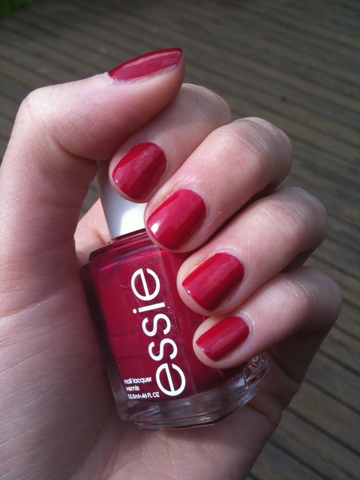 essie plumberry brand new used for one swatch beauty