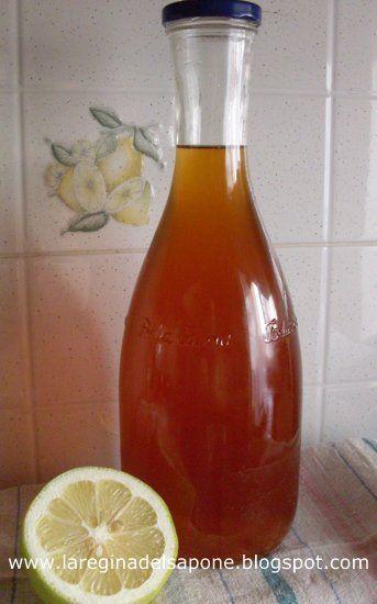 La Regina del Sapone: sciroppo di tè al limone