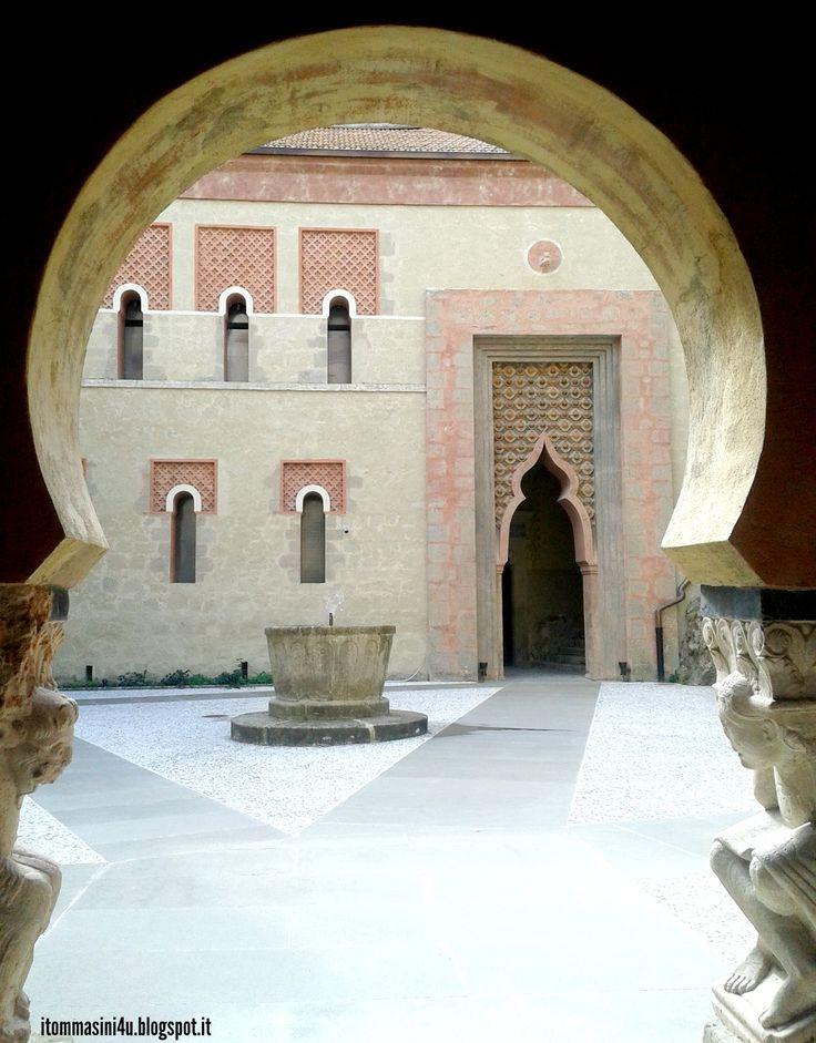 Rocchetta Mattei #castle #rocchettamattei #italy