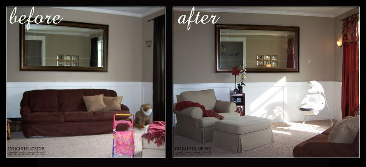 Before And After Living Room Makeovers Living Room Before After Before And After