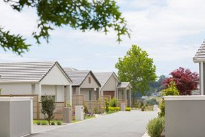 GATED COMMUNITIES: We developed 11 lots in Sandlewood Way, Bethlehem to create a beautiful gated community opposite the thriving Bethlehem Town Centre, and close to all levels of schooling.  With the popular Gordon Carmichael Reserve nearby, these three bedroom, two bathroom homes proved popular for families. #ClassicBuilders
