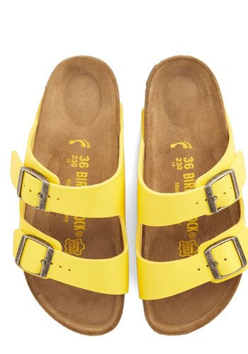 Strappy Camper Sandal in Buttercup