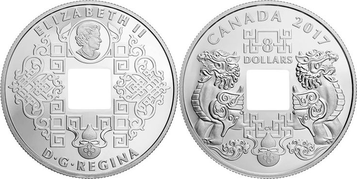 The Royal Canadian Mint released the 2017 Feng Shui Good Luck Charms Pure Silver Coin with a face value of $8. The coin features the mystical Pi Yao or Pixiu, the ultimate Feng Shui cure to draw wealth from all directions. This celestial guardian and symbol of fortune is one of the several powerful themes that come together on both sides of this, where a square hole pierced through the center a traditional motif used in Chinese minting to represent the Earth and the national landmass. The…