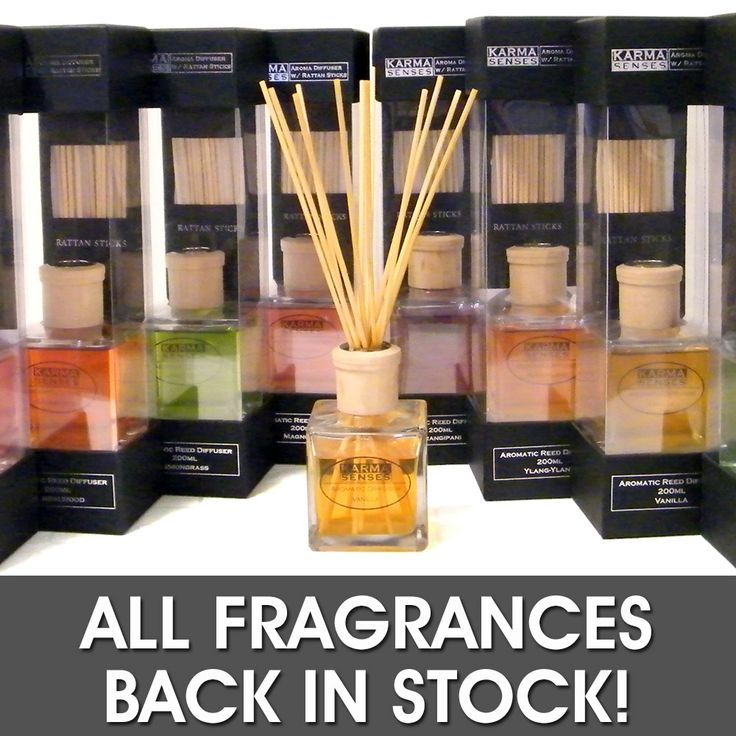 All fragrances of AD51 200ml reed diffusers from KARMA SENSES are back in stock! Yep, that includes Fragipani! Yayyy! http://www.artflodesigns.com.au/aroma-diffusers/aroma-diffusers-ranges/square-aroma-diffuser-ad51-200ml.html