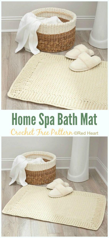 Bath Rug Bathmat Free Crochet Patterns Crochet Rug Patterns Crochet Rug Patterns Free Pattern Bath Rugs