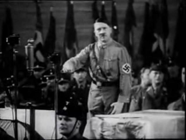Visuals Audio :     Adolf Hitler - Speech (1933)  Sep.11.2001-As It Happened-The South Tower Attack  The Destruction Of Our Planet.  Albert Einstein Warns Against The Hydrogen Bomb  Atomic Bomb news footage from 1945  Hiroshima Atomic Bomb Video  Sky News Shock  Awe Iraq EXCERPT