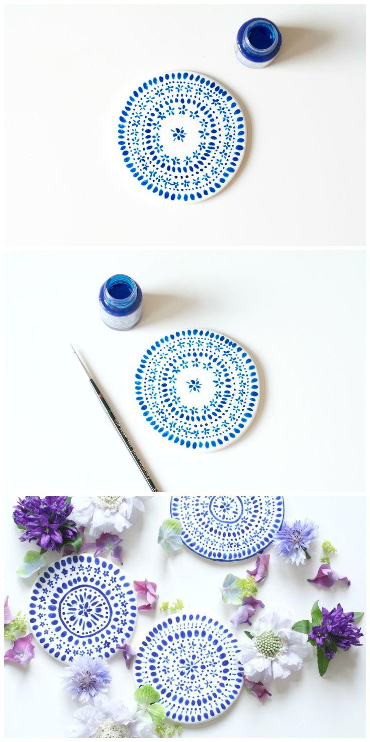 DIY Coasters | Mahalolena