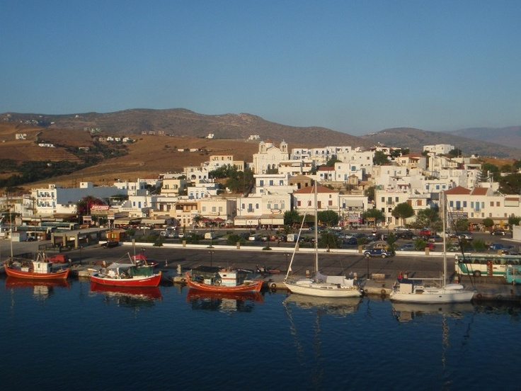 Gavrio, the port of Andros!
