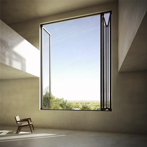 BOGDANVANBROECKARCHITECTS this window!!!!: Big Window,  Medicine Cabinets, Large Window, Medicine Chest, Spaces, Interiors Design, Architecture Inspiration, Windows, View