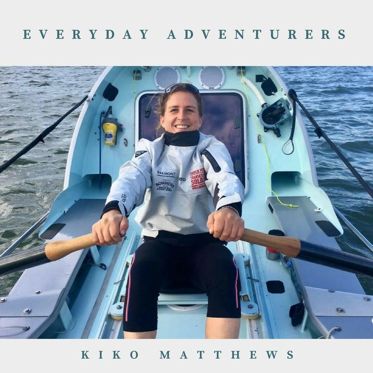 Extraordinary people setting extraordinary goals and doing extraordinary things. Kiko Matthews is attempting to set a world record by becoming fastest woman to row across the Atlantic Ocean.