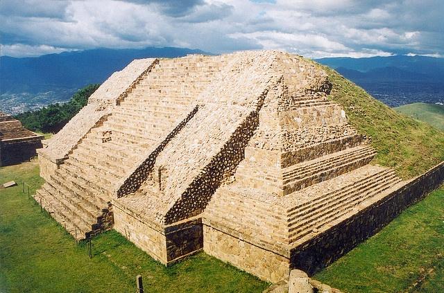 Monte Albán, Oaxaca, Mexico