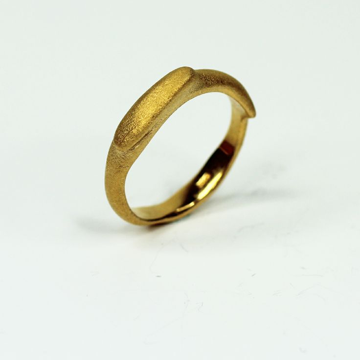 Gold plated silver ring by Vladko jewellery