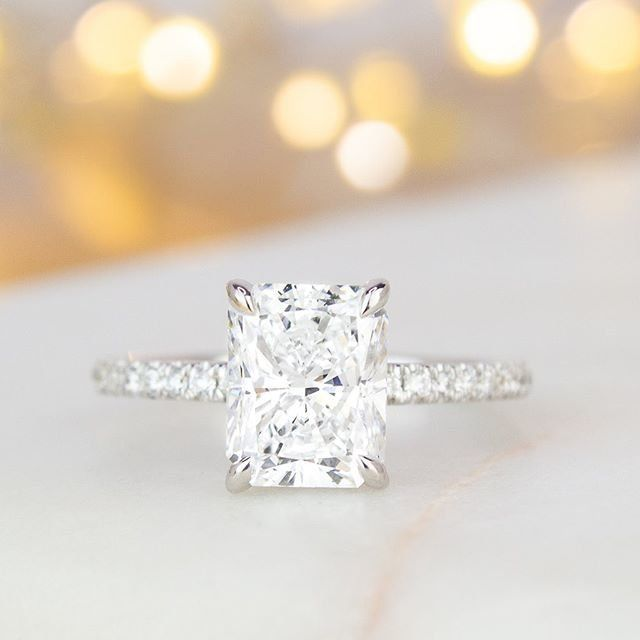18k White Gold Demi Diamond Ring 1 3 Ct Tw Aquamarine Engagement Ring Vintage Vintage Engagement Rings Gold Diamond Wedding Band