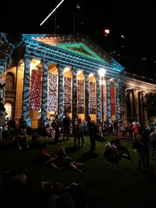 State Library on White Night