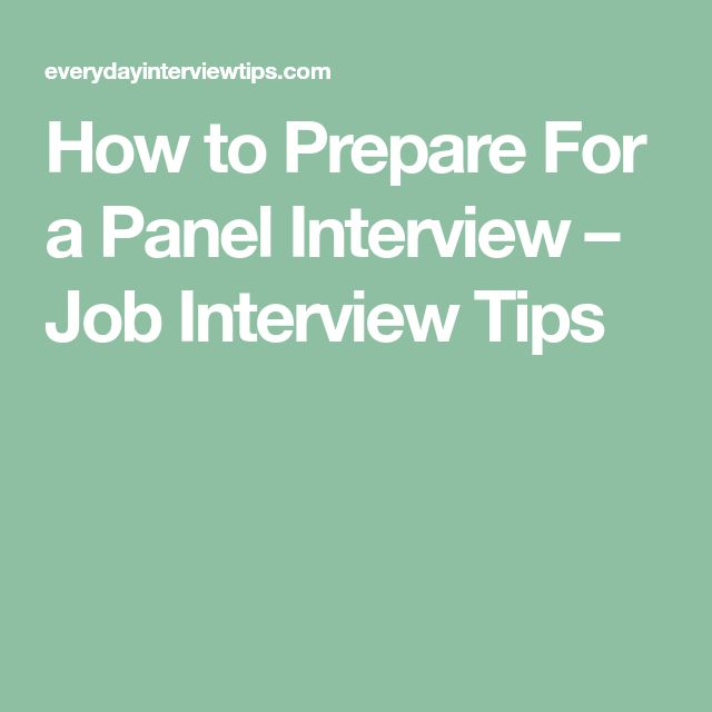 How to Prepare For a Panel Interview – Job Interview Tips