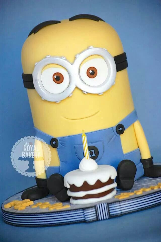 143 best Despicable Me Cakes images on Pinterest Cake minion