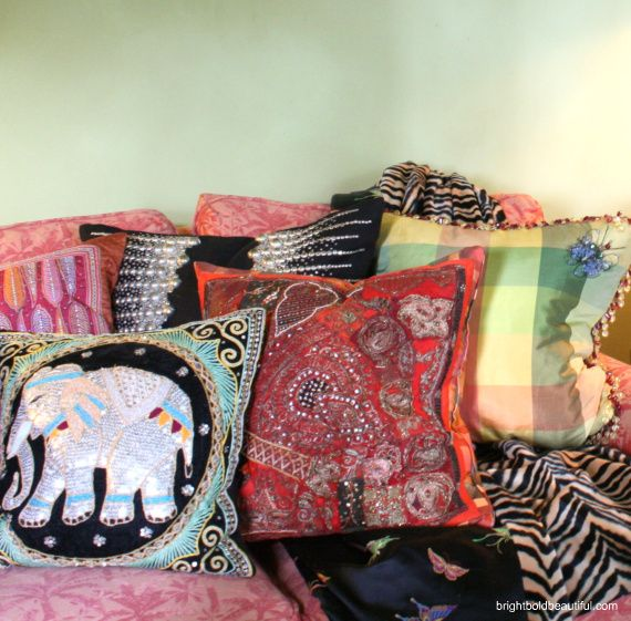 Bohemian Throw Blankets 1000 Images About Pillows On Pinterest  Elephant Pillow Throw