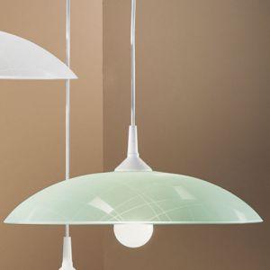 Essentials Ascerea Large Green Pendant Light