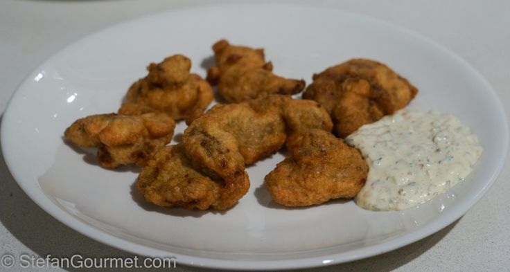 Kibbeling (Fried Cod Cheeks)