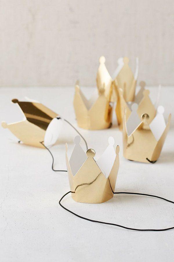 Mini Party Crowns Set
