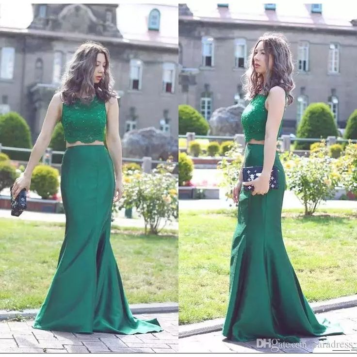 2017 New Sexy Two Pieces Prom Dresses Mermaid Formal Dresses Evening Wear Sheer Bateau Neckline Beaded Lace Appliques Prom Gowns Custom Made Cheap Prom Dresses Dresses Evening Wear Plus Size Evening Gown Dress Online with $143.33/Piece on Caradress's Store | DHgate.com