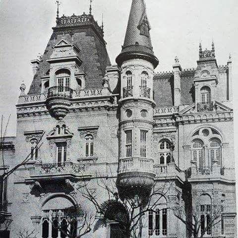 Casa Ing. Ernesto Castelhum Callao 922 Año 1907 Arq. Victor Jaeschké demolida
