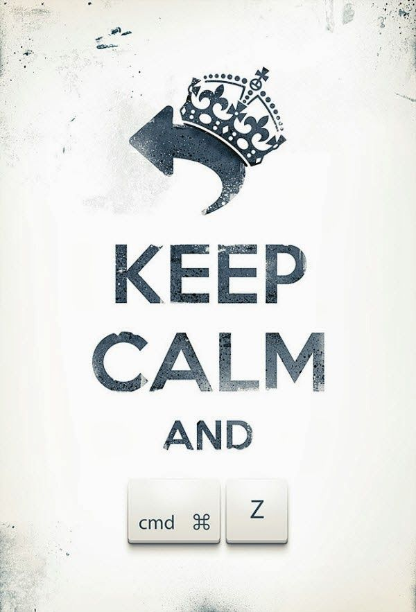 KEEP CALM POSTER FOR DESIGNERS