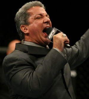 """The Voice of the UFC"" Bruce Buffer,   Today on In the Cage with Bards, Carlin speaks with UFC octagon announcer aka ""The Voice of the UFC"" Bruce Buffer."